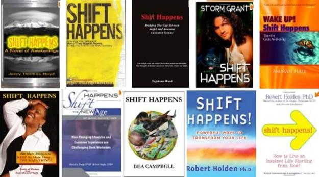 Nine Books Called Shift Happens
