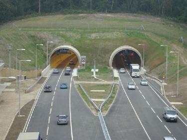 The A3 Hindhead Tunnel